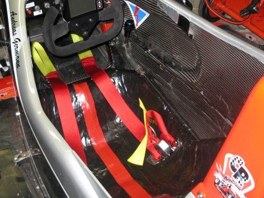 Formel3 Cockpit Dallara F399 016