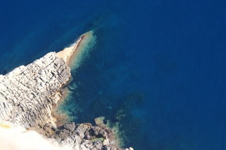Formentor : Blick von der Klippe