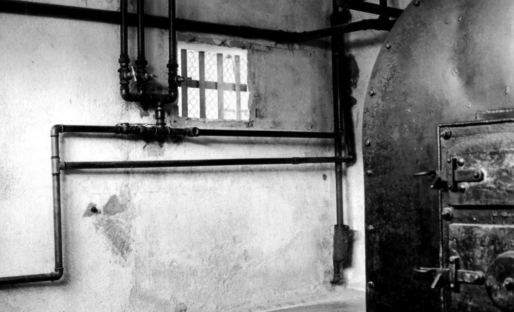 Forno crematorio - Campo di Concentramento di Struthof, confine Germania Francia