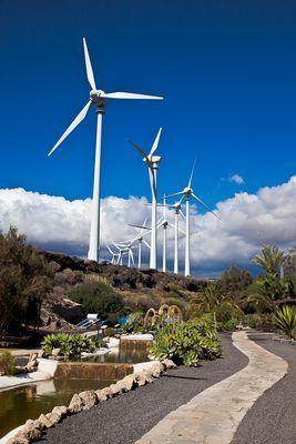 Forschungs und Besichtigungsanlage für regenerative Energien, Spanien
