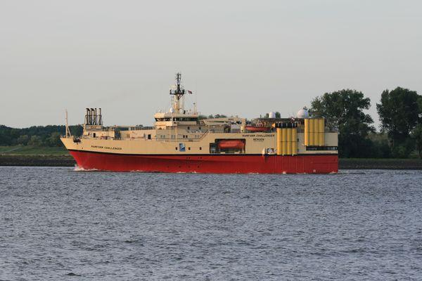 Forschungsschiff Ramform Challenger