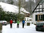 Forsthaus Durbeke ein Wintermärchen