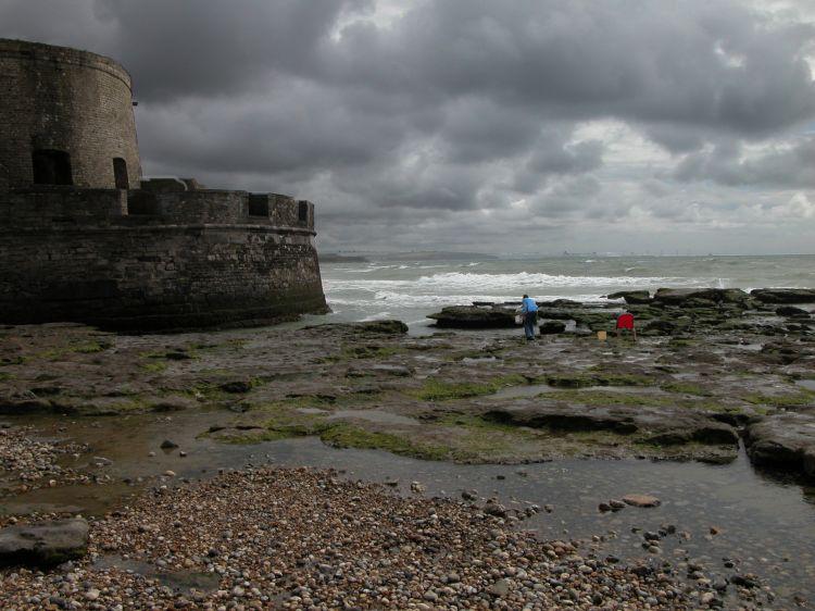 fort d' ambleteuse, près de boulogne sur mer.