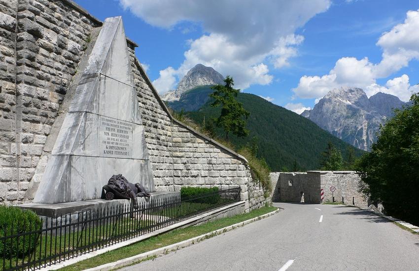 ...Fort Hermann am Predilpass...