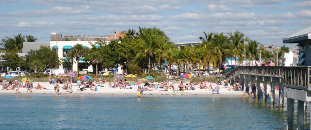 Fort Myers Beach am 9. Januar 2008