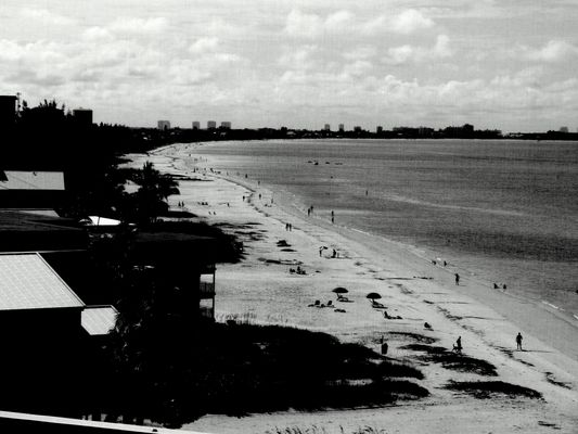 Fort Myers Beach, from the room