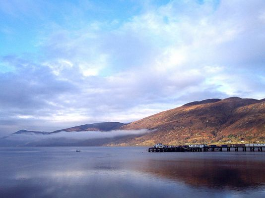 Fort William am Morgen