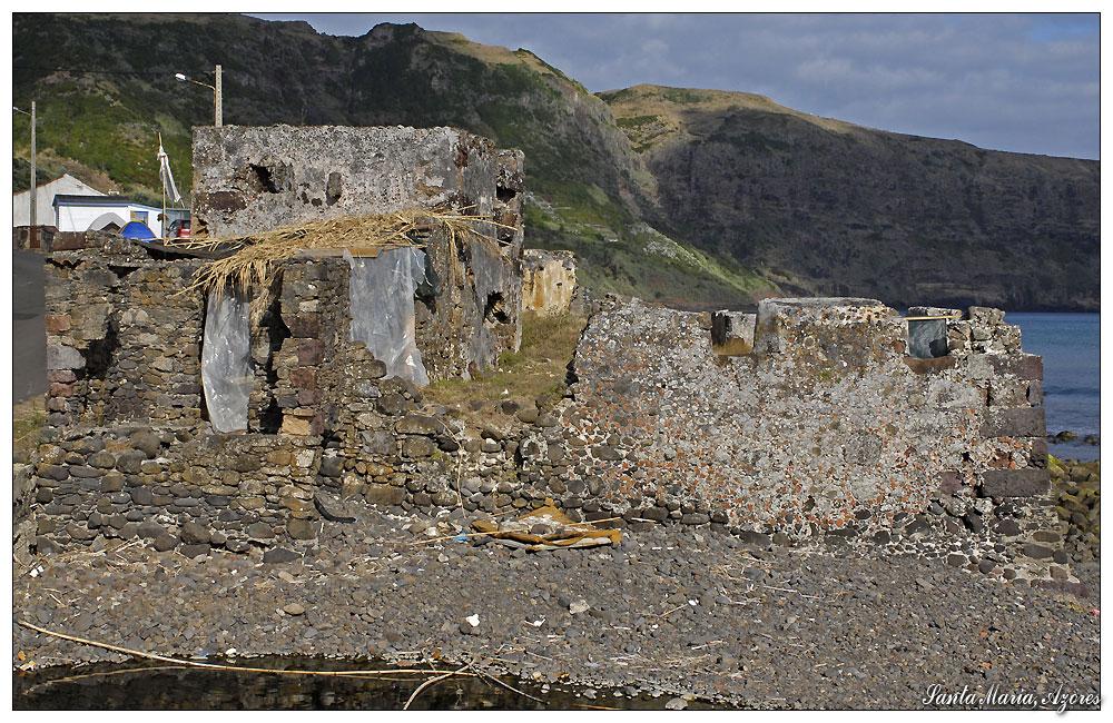 Forte de Sao Joao Baptista -2- (Santa Maria, Azoren)