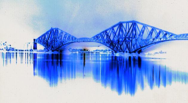 Forth Bridge bei Edinburgh