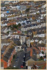 Fortuneswell town isle of Portland