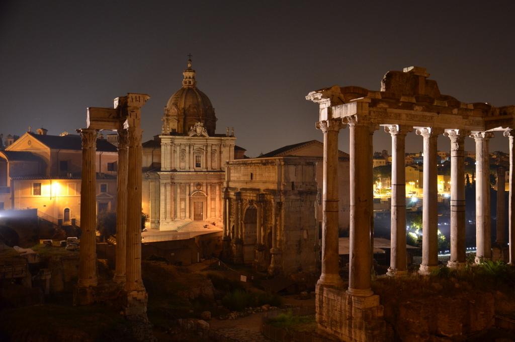 Forum Romanum by night