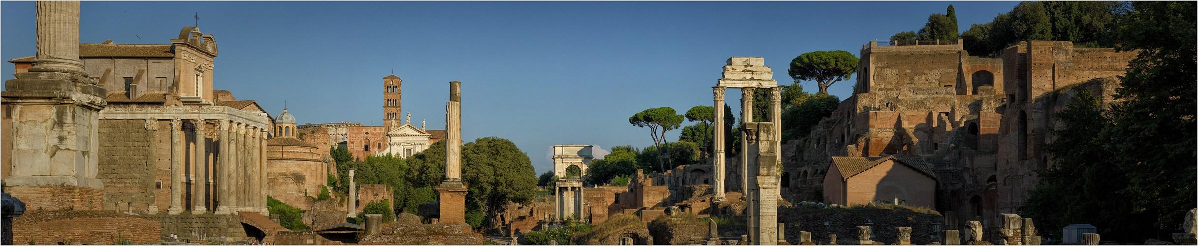 Forum Romanum - Panorama