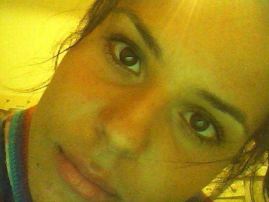 Foto della mia faccia, scattata con la webcam