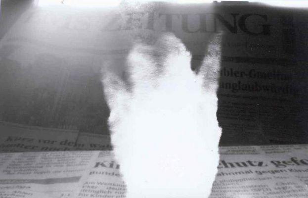 Foto einer Zeitung