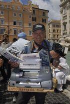 """Foto Express"" am Trevibrunnen in Rom"