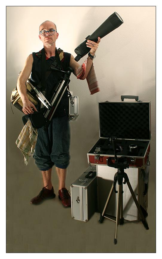 Foto-Gesinde: 1. Der Equipment Caddie