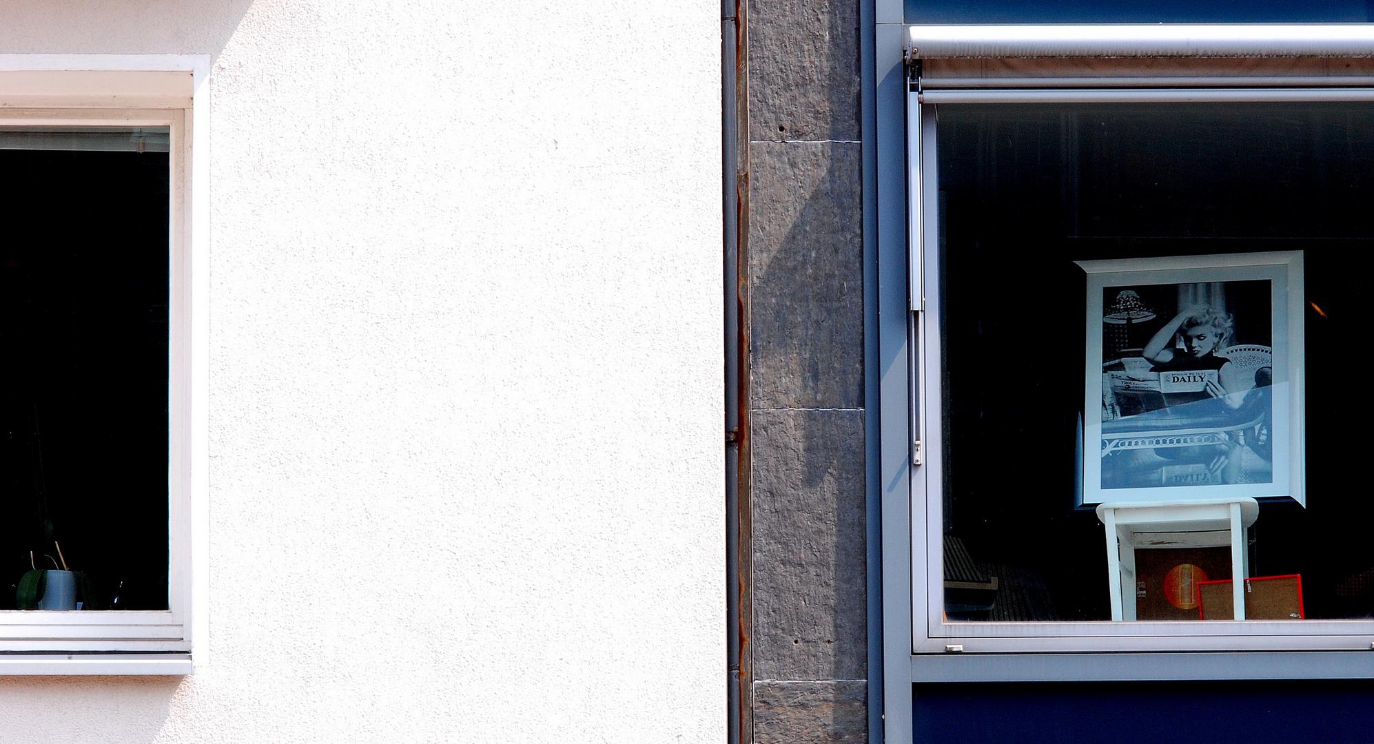 Foto im Fenster