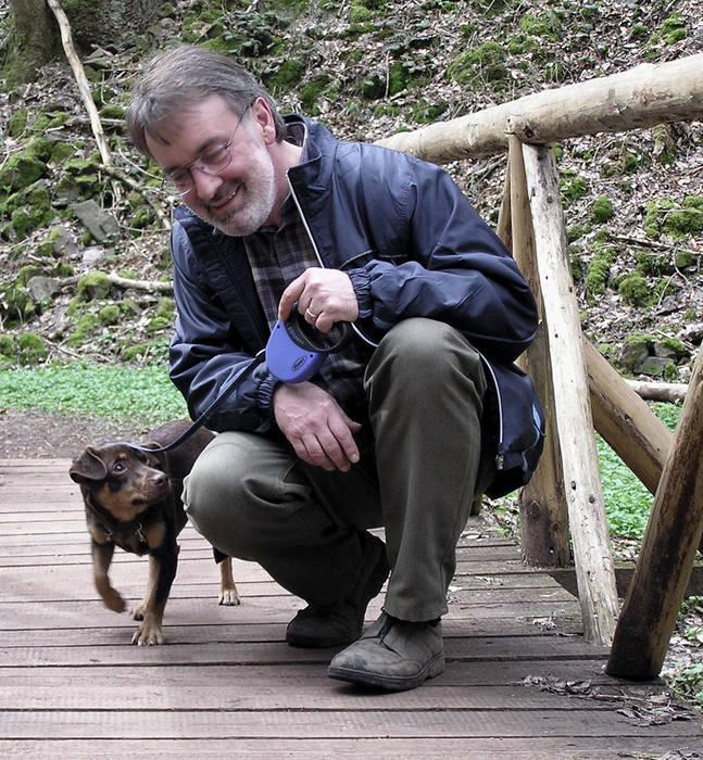 Foto mit Hund