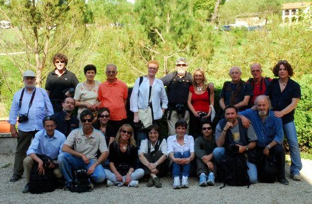 Foto raduno a Città di Castello