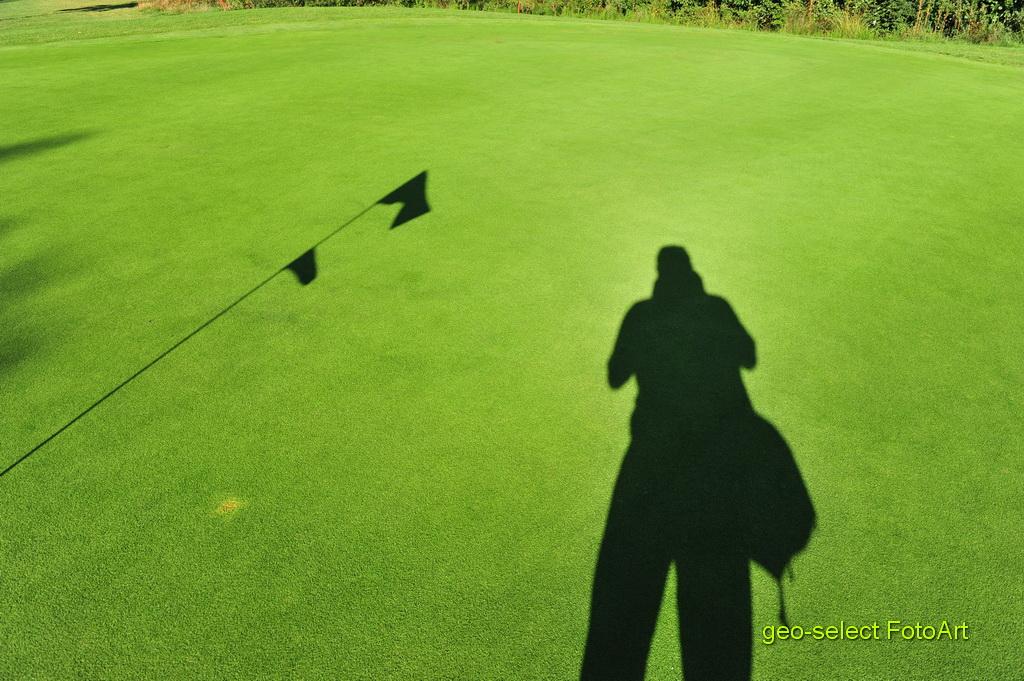 Foto trifft Golf auf Green