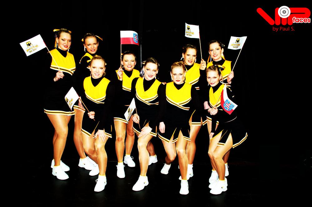 Foto von der Cheerleader DM 2007