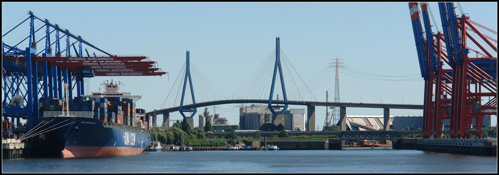 Foto von der Hafenrundfahrt