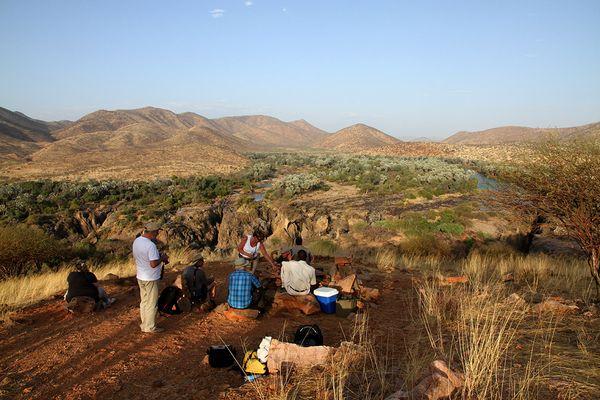 Foto-Workshop Landschaftsfotografie am Kunene in Namibia
