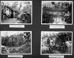 Fotoalbumseite: Erinnerungen von Ludwig F. 1915 – 1918