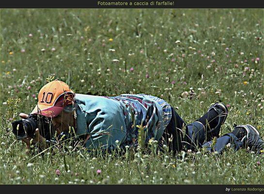 Fotoamatore a caccia... di farfalle