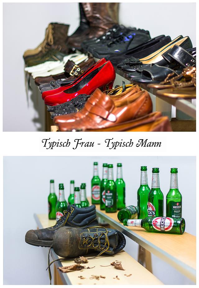 """Fotoaufgabe """"Typisch Mann - Typisch Frau"""""""