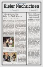 Fotoausstellung im Café Grünlund