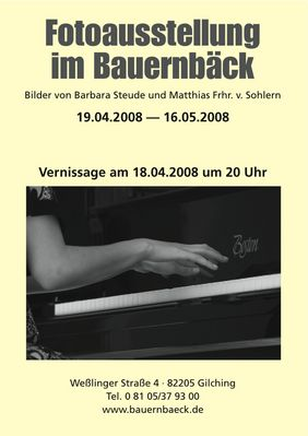 Fotoausstellung in Gilching