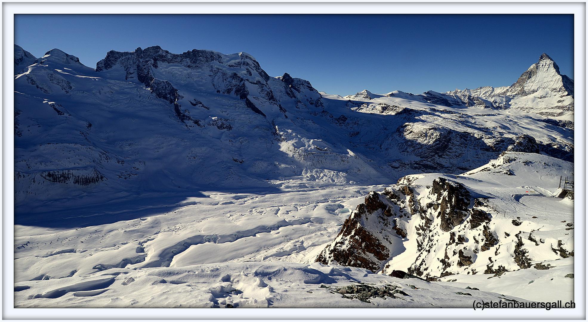 """""""Fotogenes Matterhorn."""""""