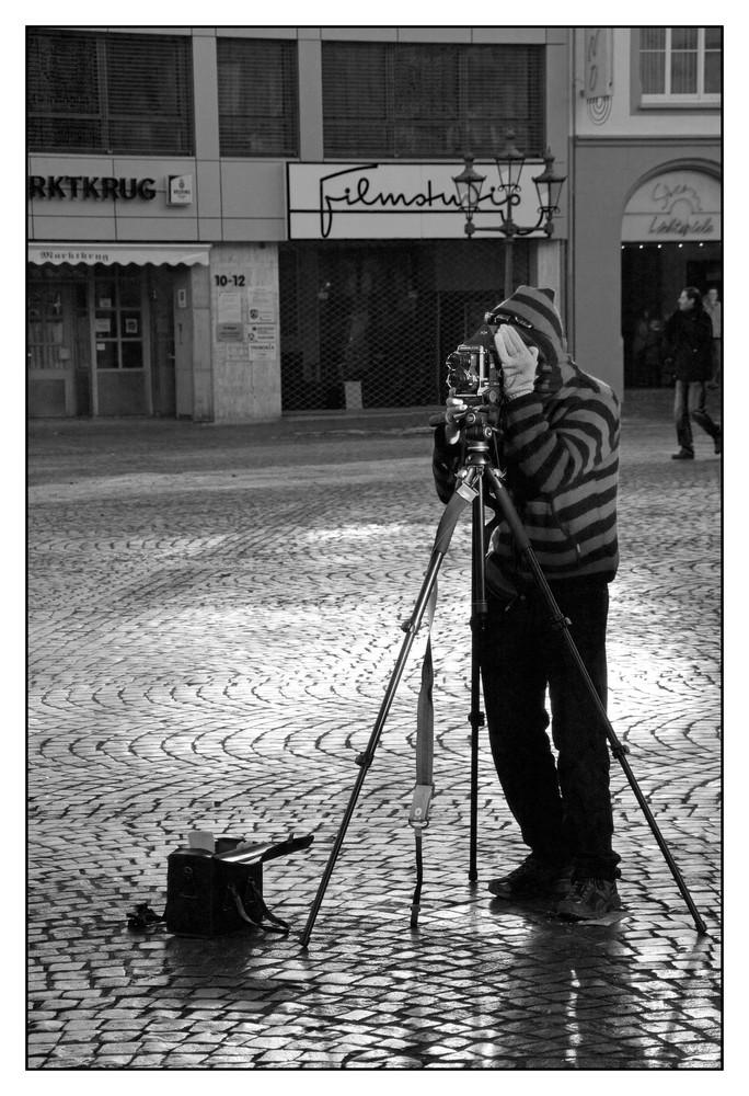 Fotograf alter Schule