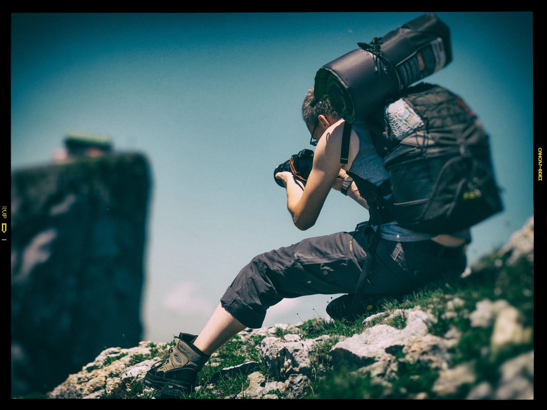 Fotograf in Action