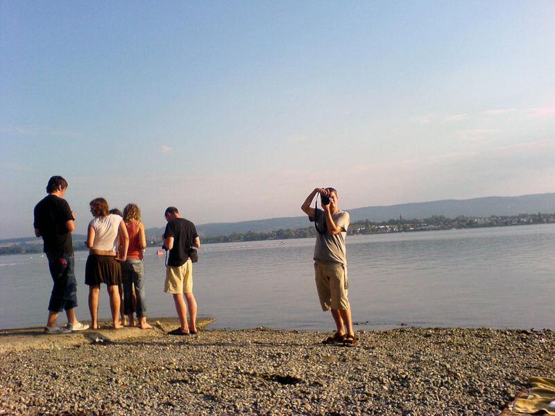 Fotografen am See