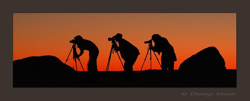 Fotografen am Werk