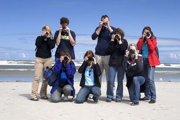 Fotografen in Action :-)