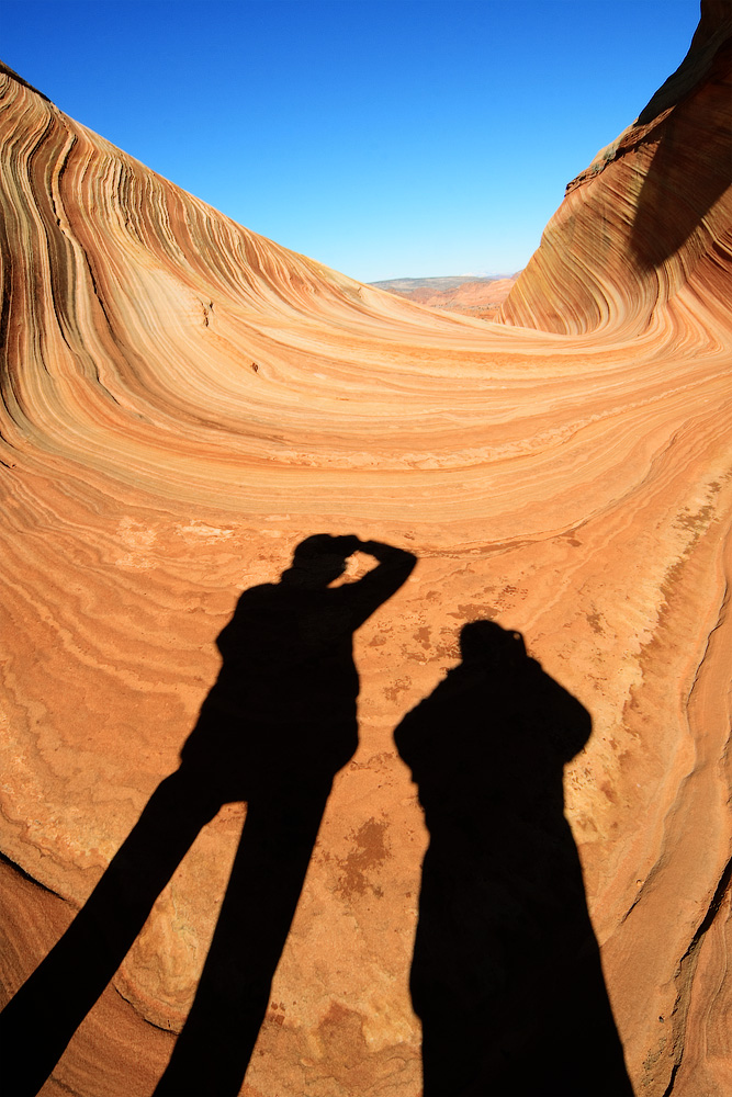 Fotografen in der Wave