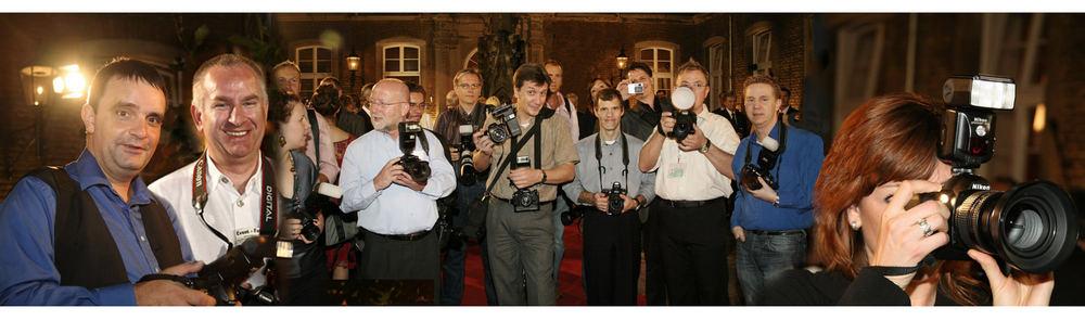 Fotografen/in bei der Arbeit (Reload)