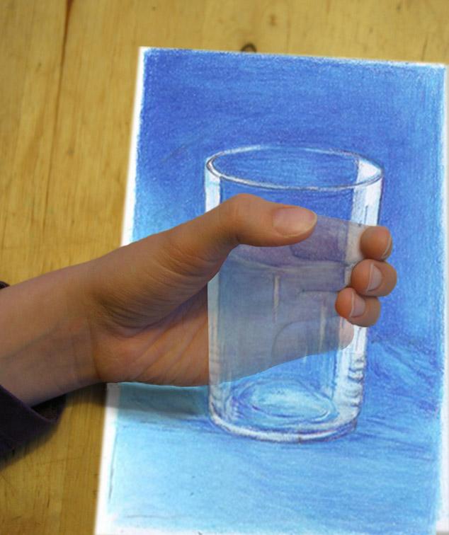 Fotografie trifft Zeichnung