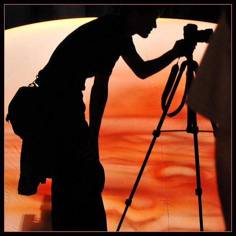 Fotografin im Licht