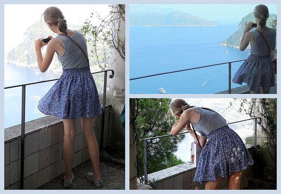 Fotografinnen (1):Capri knipsen