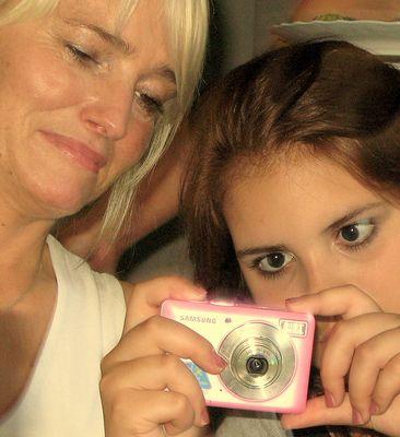 Fotografinnen(3):Mutter und Tochter