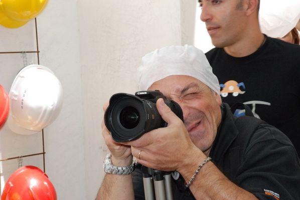 fotografo asettico