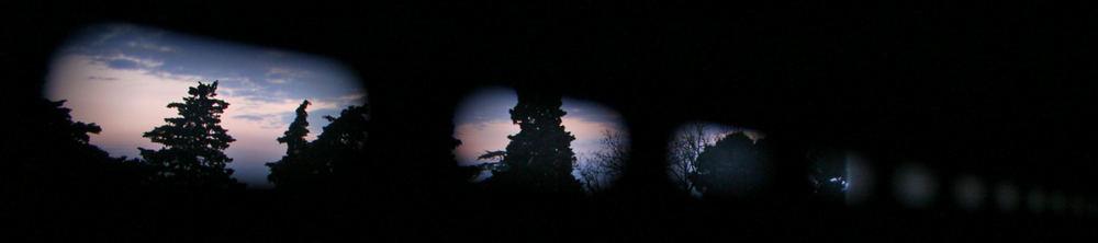 fotogrammi di un tramonto