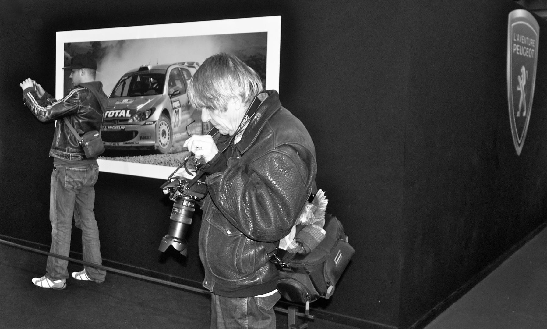 Fotographen in Aktion