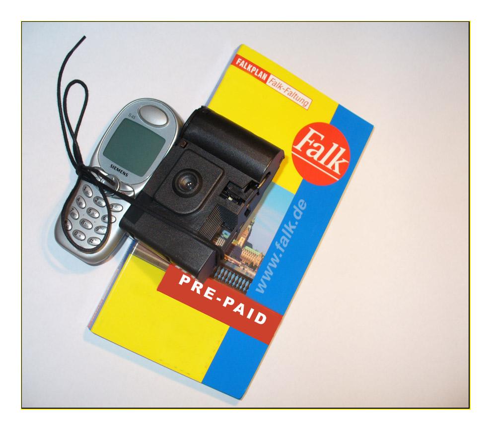 Fotohandy mit prepaid-karte