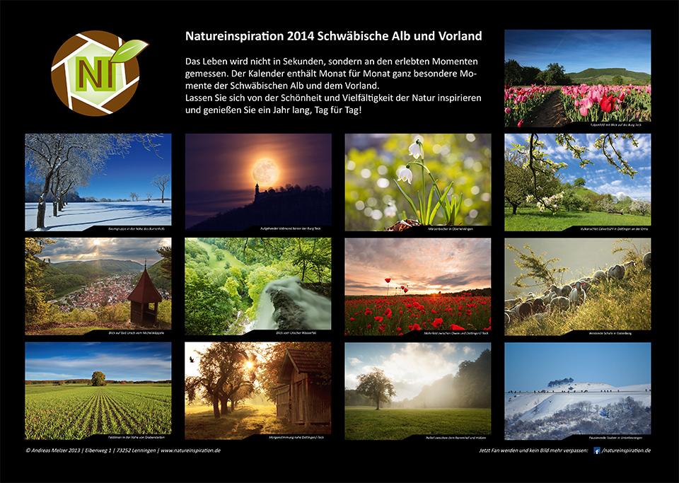 Fotokalender 2014 Schwäbische Alb & Vorland