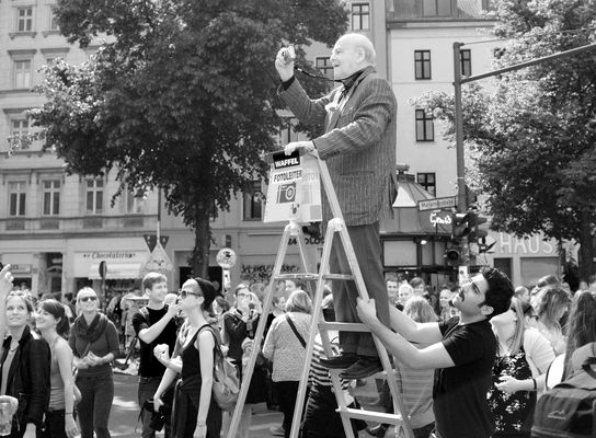Fotoleiter in Berlin Kreuzberg